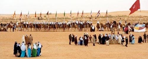 festival douz 2013,festival international du sahara de douz,réveillon 2013 dans le désert,méharée,dromadaires,nomades,desert méharée revillion 2013